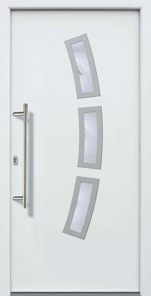 "Haustür ""CORNELIA"" 60mm (ALU, Anthrazit, Grau oder Weiß)"