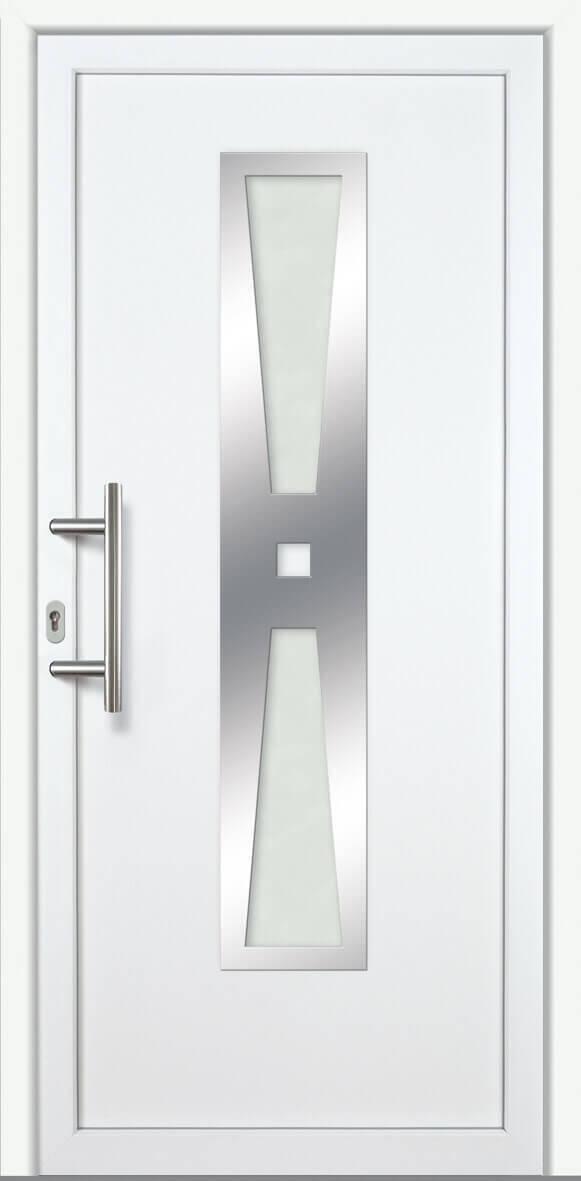 haust r lina 60mm alu pvc wei kunststoff aluminiumt ren alle t ren bhs bauelemente. Black Bedroom Furniture Sets. Home Design Ideas