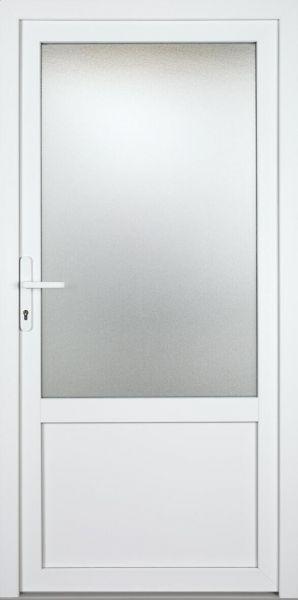 """Nebeneingangstür """"BABSI-G"""" 70mm (ALU-PVC, glatt, anthrazit oder weiß)"""