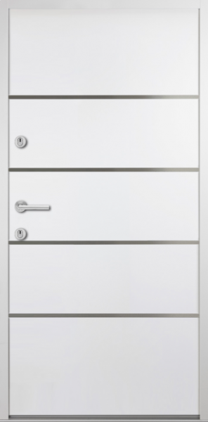 """Aluminium-Stahl Nebeneingangstür """"ARANJA"""" 56 mm"""