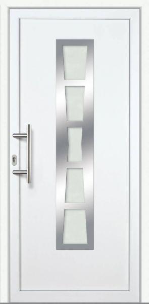 "Haustür ""MARIE"" 60mm (ALU-PVC, weiß)"