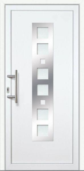 """Haustür """"LARA"""" 60mm (ALU-PVC, weiß)"""