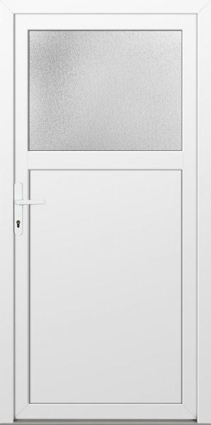 """LAGER Kunststoff Nebeneingangstür """"ANTONIA"""" 60mm Weiß"""
