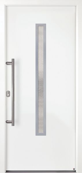 """Aluminium Haustür """"MANUELA"""" 79mm flügelüberdeckend"""