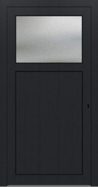 "LAGER Kunststoff Nebeneingangstür ""ANTONIA-Q"" 70mm Anthrazit"