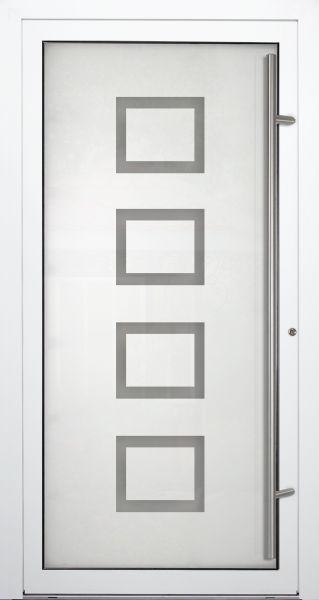 "Aluminium Glas Haustür ""HEIDI"" 90mm"