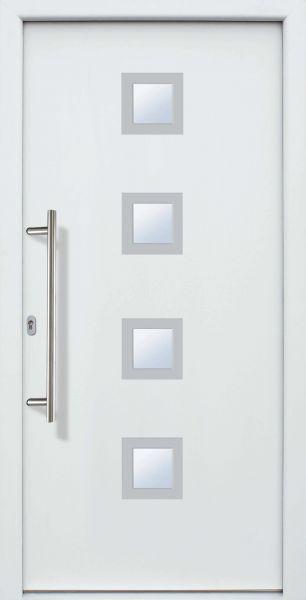 "Haustür ""LILLY"" 60mm (ALU, Anthrazit, Grau oder Weiß)"