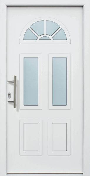 "Haustür ""SIMONE"" 60mm (ALU, Anthrazit, Grau oder Weiß)"