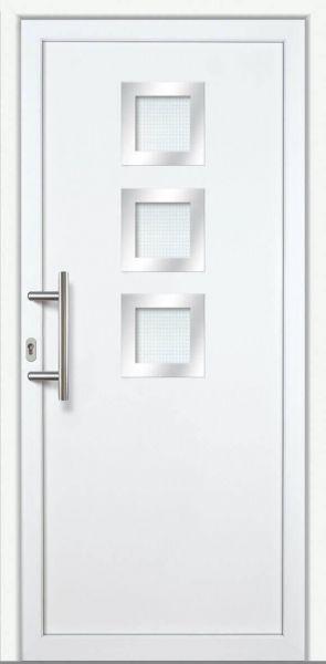 "Haustür ""JUDITH"" 60mm (PVC, weiß)"