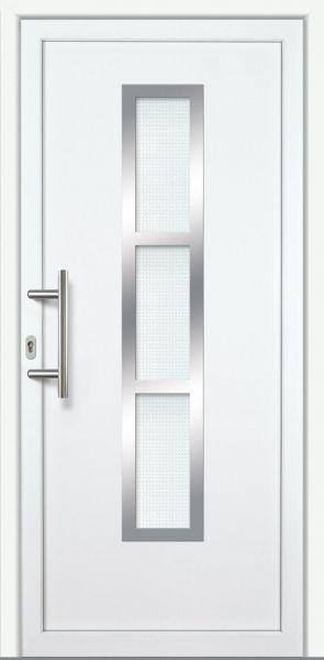 """Haustür """"ANNABELLE"""" 60mm (PVC, weiß)"""