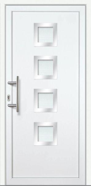 "Kunststoff-Aluminium Haustür ""LENA"" 60mm"
