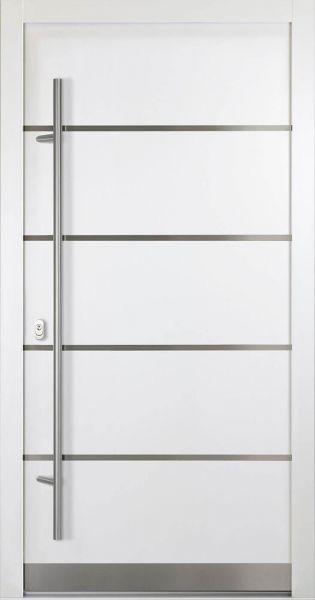 """Aluminium Haustür """"FANNIE"""" 92mm flügelüberdeckend"""