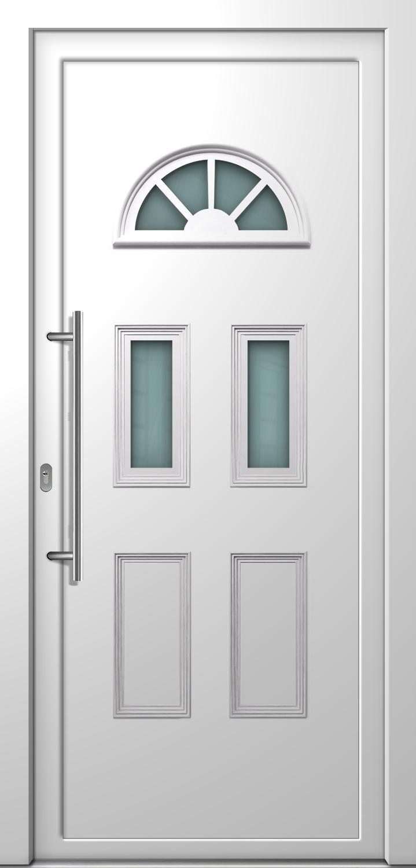 Haust r madlen la 70mm landhaus pvc wei for Fenster 0 finanzierung
