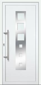 """Haustür """"OLIVIANE"""" 60mm (PVC, weiß)"""