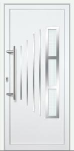 "Haustür ""KLAIRA"" 60mm (PVC, weiß)"