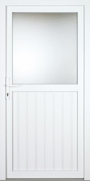 """Nebeneingangstür """"ELLY"""" 70mm (PVC, genutet, weiß)"""