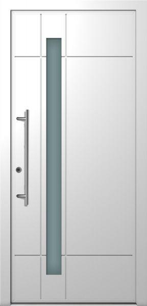 "Aluminium Haustür ""ANDREA"" 78mm flügelüberdeckend RC2 (Standardmaß)"