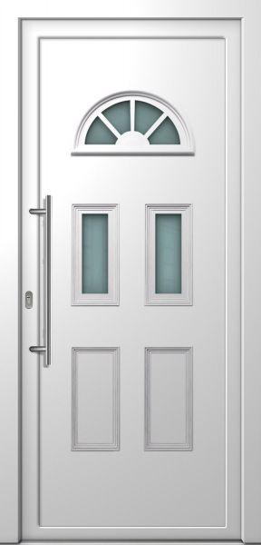 """Haustür """"MADLEN-S-K"""" 70mm (Landhaus, PVC, Weiß oder Golden Oak)"""