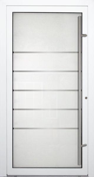 """Aluminium Glas Haustür """"ELIF"""" 90mm"""