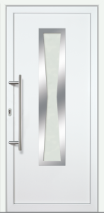 """Haustür """"KATALINA"""" 70mm (PVC, weiß)"""