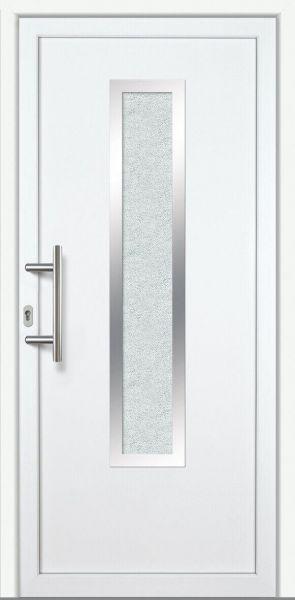 """Haustür """"EMMA"""" 60mm (ALU-PVC, weiß)"""