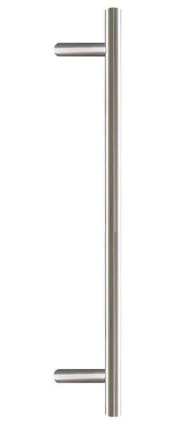 Stoßgriff Edelstahl (Silber, 160cm)