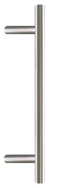 Stoßgriff Edelstahl (Silber, 80cm)