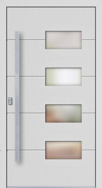 "Haustür ""JULIA"" 77mm (ALU, verschied. Farben)"