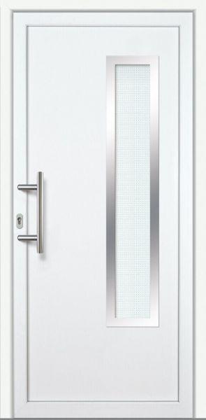 "Haustür ""LEA"" 60mm (ALU-PVC, weiß)"